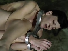 Cutie is getting extreme torturing for her marvelous feet